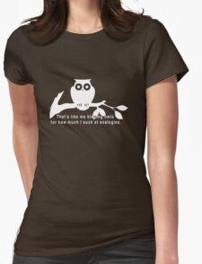 Britta 'Owls' - Community Season 5  Womens Fitted T-Shirt