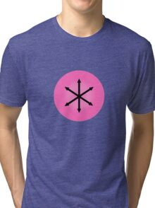 E PLURIBUS ANUS - Greendale Logo Tri-blend T-Shirt