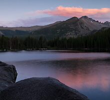 Last Light at Bear Lake by Teresa Smith