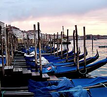Venice - Waiting for the Day to Start by Jenny Hudson