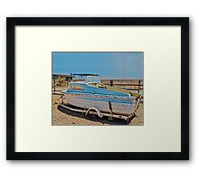 FABULOUS DAY FOR A CRUISE Framed Print