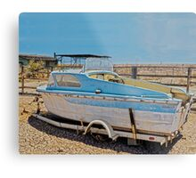 FABULOUS DAY FOR A CRUISE Metal Print