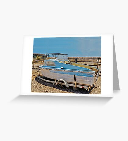 FABULOUS DAY FOR A CRUISE Greeting Card