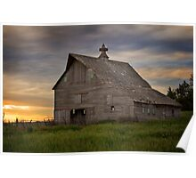 Old Richland Barn Poster