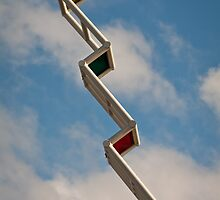 Sky Ladder by Rhoufi