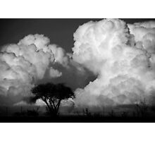 building a cloud Photographic Print