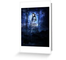 CIVIL WAR BRIDE WIDOW Greeting Card