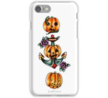 Halloween Flash 2   Pumpkins iPhone Case/Skin
