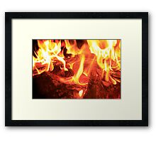 Now That's Hot Framed Print