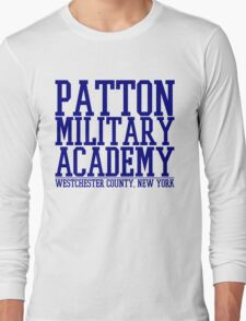 Patton Military Academy Logo Long Sleeve T-Shirt