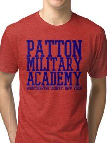 Patton Military Academy Logo Tri-blend T-Shirt