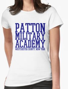 Patton Military Academy Logo Womens Fitted T-Shirt