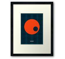Modernist Circle Framed Print