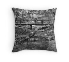 Wooded Creek Throw Pillow