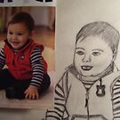 THIS A SKETCH FROM ART SCHOOL ( CARTERS BABY ) by TSykes