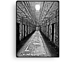 Desolate B&W Canvas Print