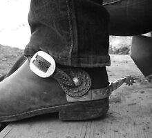 dusty spurs by Erinn Mcneilly