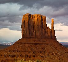 Monument Valley Mitten by Ken  Hurst