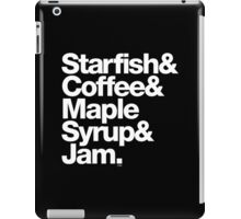 Starfish Coffee Helvetica Ampersand Prince T-Shirts & More iPad Case/Skin