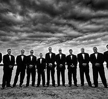 Reservoir Groomsmen by Bob Larson