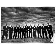 Reservoir Groomsmen Poster
