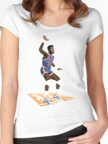 Ultimate Ewing Women's Fitted Scoop T-Shirt