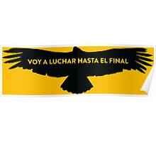 Nairo Quintana : Fight TDF2015 Black Logo Poster