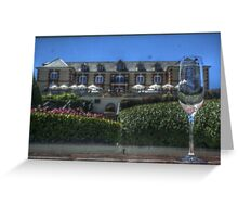 Chateau Greeting Card