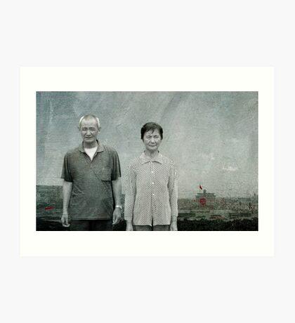 Chinese whispers Art Print