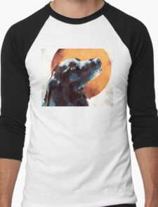 Black Lab Men's Baseball ¾ T-Shirt