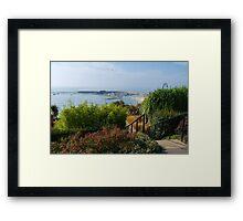 Down To The Sea ~ Lyme Regis Framed Print
