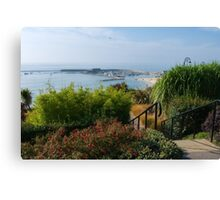 Down To The Sea ~ Lyme Regis Canvas Print