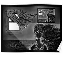 """""""Open Window, Dark Room"""" Poster"""