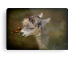 A Gentle Hello Metal Print
