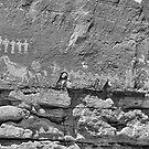 Petroglyphs V by jbiller