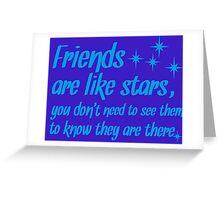 Friends, Friendship Greeting Card