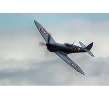 Supermarine Spitfire Fly By Photographic Print