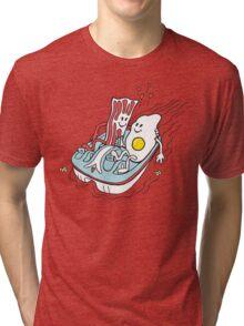 Bacon & Egg Tri-blend T-Shirt
