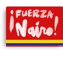 Fuerza Nairo Quintana : Colombian Flag Colors Canvas Print