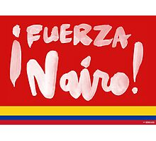 Fuerza Nairo Quintana : Colombian Flag Colors Photographic Print
