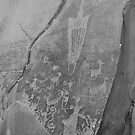 Petroglyphs III by jbiller