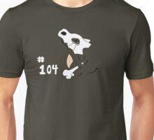 Pokemon 104 Cubone Unisex T-Shirt