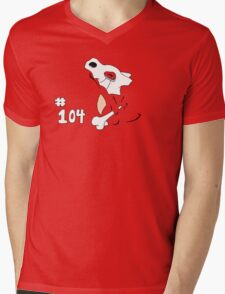 Pokemon 104 Cubone Mens V-Neck T-Shirt