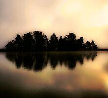 Misty & Mystical Autumn Dawn I by Juhana Tuomi