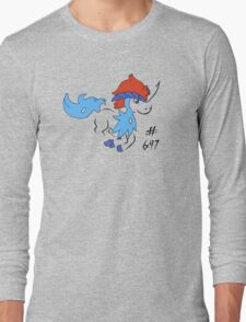 Pokemon 647 Keldeo Long Sleeve T-Shirt