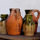 Ceramic Jugs by Rae Tucker