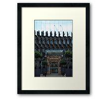 The Bourse Framed Print