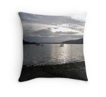 Argyll Sunset Throw Pillow