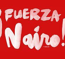 Fuerza Nairo Quintana : v1 - White Script by finnllow