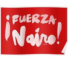 Fuerza Nairo Quintana : v1 - White Script Poster